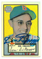 DOM DIMAGGIO BOSTON RED SOX AUTOGRAPHED BASEBALL CARD #122320G