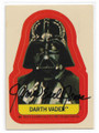 JAMES EARL JONES AUTOGRAPHED VINTAGE STICKER & PUZZLE BACK STAR WARS CARD #122520H