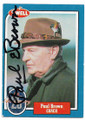 PAUL BROWN CLEVELAND BROWNS AUTOGRAPHED VINTAGE FOOTBALL CARD #122620H