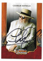 CHARLIE DANIELS AUTOGRAPHED CARD #10321A