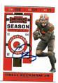 ODELL BECKHAM JR CLEVELAND BROWNS AUTOGRAPHED FOOTBALL CARD #10321B