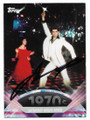 JOHN TRAVOLTA SATURDAY NIGHT FEVER STAR AUTOGRAPHED CARD #10321C