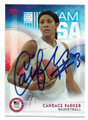 CANDACE PARKER US WOMEN'S OLYMPIC BASKETBALL TEAM AUTOGRAPHED CARD #10421E
