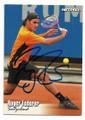 ROGER FEDERER SWITZERLAND AUTOGRAPHED TENNIS CARD #10521B