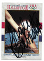 SHIRLEY BABASHOFF AUTOGRAPHED OLYMPIC SWIMMING CARD #10721B