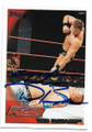 TED DiBIASE AUTOGRAPHED WRESTLING CARD #10921c