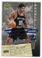TIM DUNCAN SAN ANTONIO SPURS AUTOGRAPHED BASKETBALL CARD #11321F