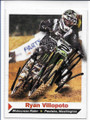 RYAN VILLOPOTO MOTOCROSS RIDER AUTOGRAPHED CARD #11421A