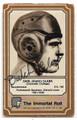 DUTCH CLARK DETROIT LIONS AUTOGRAPHED VINTAGE FOOTBALL CARD  #12021E