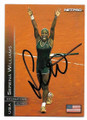 SERENA WILLIAMS AUTOGRAPHED ROOKIE TENNIS CARD #12521B