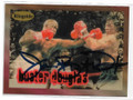 JAMES BUSTER DOUGLAS AUTOGRAPHED BOXING CARD #12521D