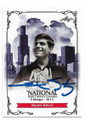MARK SPITZ AUTOGRAPHED OLYMPIC SWIMMING CARD #12621C