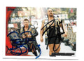 THE MIZ AND BIG SHOW  DOUBLE AUTOGRAPHED WRESTLING CARD #20521D