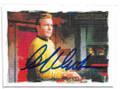 WILLIAM SHATNER AUTOGRAPHED STAR TREK CARD #21121B