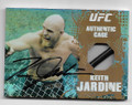 KEITH JARDINE AUTOGRAPHED PIECE OF THEGAME WRESTLING CARD #21621C