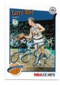 LARRY BIRD BOSTON CELTICS AUTOGRAPHED BASKETBALL CARD #22021B