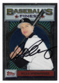 ALEX RODRIGUEZ SEATTLE MARINERS AUTOGRAPHED BASEBALL CARD #22021D