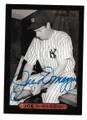 JOE DiMAGGIO NEW YORK YANKEES AUTOGRAPHED BASEBALL CARD #22121B