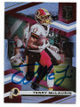 TERRY McLAURIN WASHINGTON REDSKINS AUTOGRAPHED FOOTBALL CARD #22221C