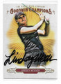LINDSEY WEAVER AUTOGRAPHED GOLF CARD #22221E