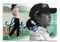 AREE SONG AUTOGRAPHED GOLF CARD #22621E