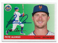 PETE ALONSO NEW YORK METS AUTOGRAPHED BASEBALL CARD #30121E