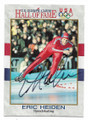 ERIC HEIDEN AUTOGRAPHED VINTAGE OLYMPIC SPEED SKATING CARD #30221A