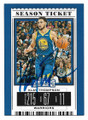 KLAY THOMPSON GOLDEN STATE WARRIORS AUTOGRAPHED BASKETBALL CARD #30421A