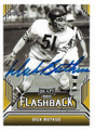 DICK BUTKUS CHICAGO BEARS AUTOGRAPHED FOOTBALL CARD #30421C