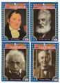 ALEXANDER GRAHAM BELL, ELI WHITNEY, THOMAS EDISON & ALBERT EINSTEIN FAMOUS INVENTORS CARD #32221D