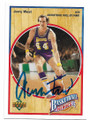 JERRY WEST LOS ANGELES LAKERS AUTOGRAPHED VINTAGE BASKETBALL CARD #32421C