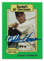 BOBBY THOMSON AUTOGRAPHED VINTAGE BASEBALL CARD #32421D