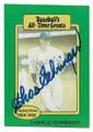 CHARLIE GEHRINGER DETROIT TIGERS AUTOGRAPHED VINTAGE BASEBALL CARD 40721B