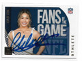 CHLOE KIM OLYMPIC SNOWBOARDING AUTOGRAPHED FANS OF THE GAME CARD #40821B
