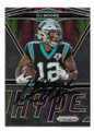 DJ MOORE CAROLINA PANTHERS AUTOGRAPHED FOOTBALL CARD #40921B