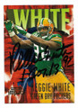 REGGIE WHITE GREEN BAY PACKERS AUTOGRAPHED FOOTBALL CARD #43021D