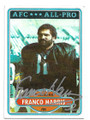 FRANCO HARRIS PITTSBURGH STEELERS AUTOGRAPHED VINTAGE FOOTBALL CARD  #50321B