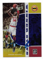 HAKEEM OLAJUWON HOUSTON ROCKETS AUTOGRAPHED BASKETBALL CARD #50421C