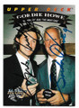 WAYNE GRETZKY & GORDIE HOWE WORLD HOCKEY ASSOCIATION ALL-STAR TEAM DOUBLE AUTOGRAPHED VINTAGE HOCKEY CARD #50421D