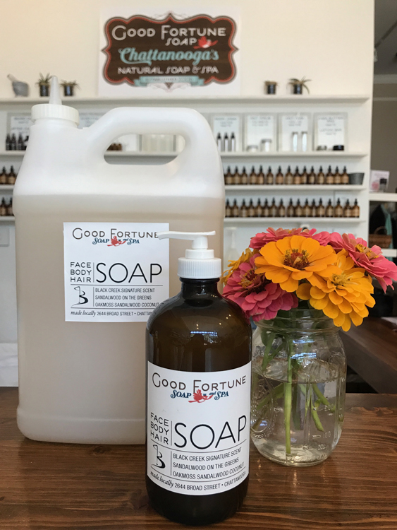 custom scented soap