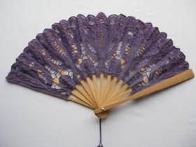 Lace Fan Lavender