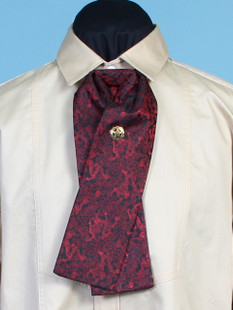 Puff Tie Red