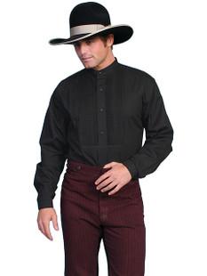 Wah Maker Tuxedo Front Shirt Black