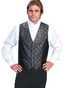 Wah Maker Scroll Paisley Vest
