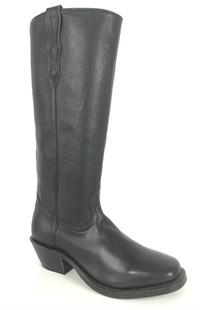 Boulet Shooter Boot - Black Square Toe
