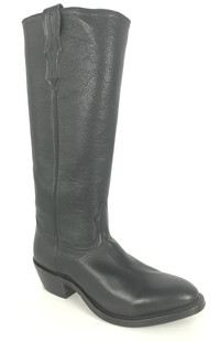 Boulet Shooter Boot - Black Round Toe