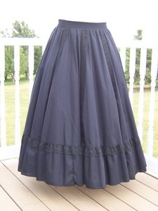 Fiesta Skirt- Black