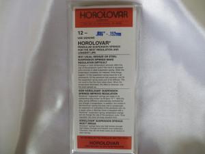 """Horolovar .0060"""" - .152mm 12 Pack Suspension Springs"""