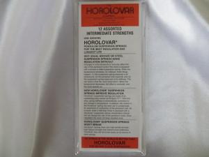 Horolovar Intermediate Assortment 12 Pack Suspension Springs