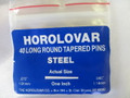 "Horolovar Steel Taper Pins .075"" - .045"""